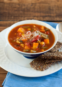 Fire-Roasted Tomato Vegetable Soup