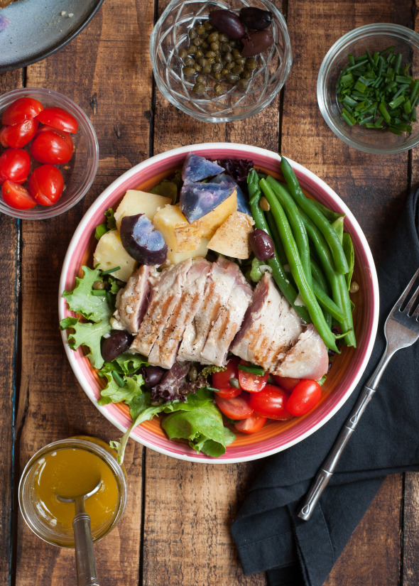 Grilled Tuna Nicoise | www.nutritiouseats.com