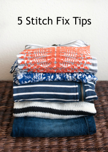 5 Stitch Fix Tips