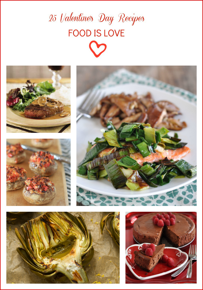 Valentine's Day Recipe Roundup | www.nutriitouseats.com