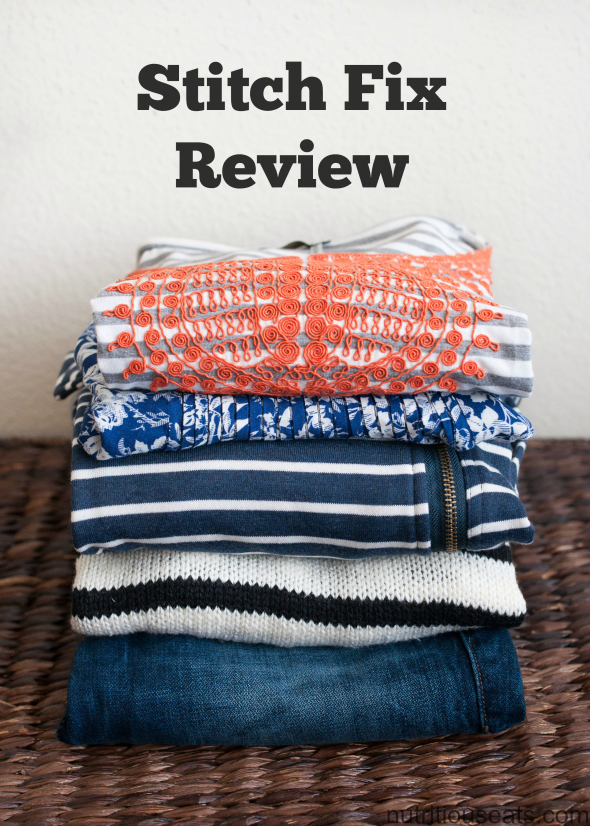 Stitch Fix Review | www.nutritiouseats.com