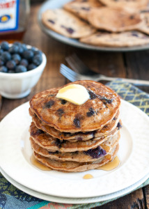 Vegan Blueberry Pancakes & Meal Planning Monday!