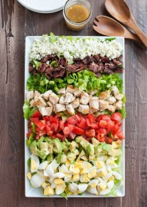 An Update and Classic Cobb Salad