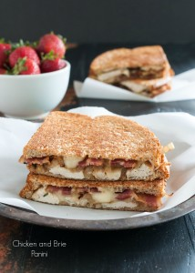 Chicken and Brie Panini