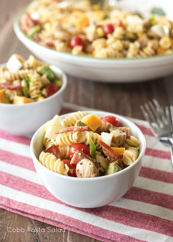 Cobb Macaroni Salad Recipe — Dishmaps