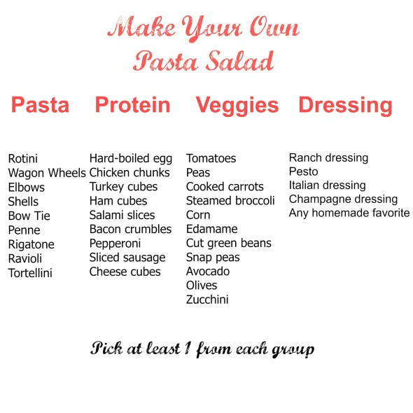 Make Your Own Pasta Salad With This Simple Guide!