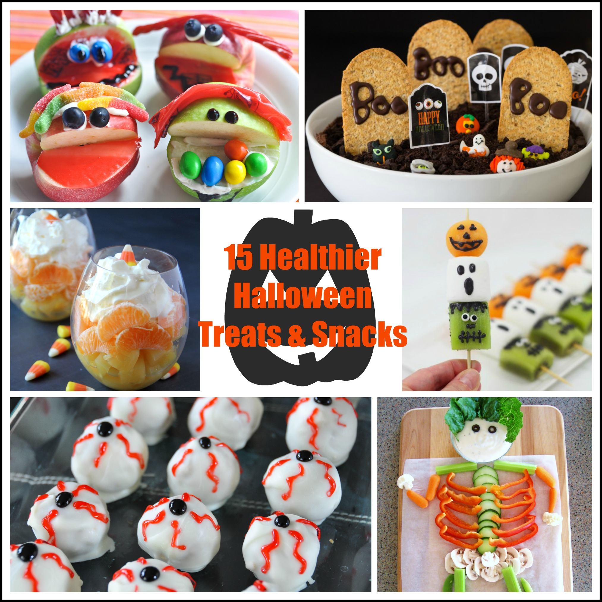 15 Healthier Halloween Treats and Snacks | Nutritious Eats
