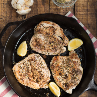 """Italian-Seasoned Sautéed Chicken Breasts- my """"go-to"""" chicken that can be transformed into a variety of meals throughout the week."""