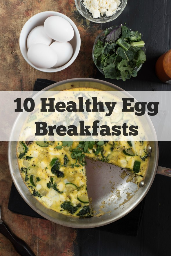 10 Healthy Egg Breakfasts- bored with scrambled or fried eggs? Here are some other ideas to get you excited about breakfast! | Nutritious Eats