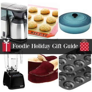 Foodie Holiday Gift Guide | Nutritious Eats