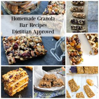 Homemade Granola Bar Recipes | www.nutritiouseats.com