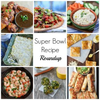 Super Bowl Recipe Roundup- healthy recipes the crowd will love! | www.nutritiouseats.com