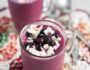 Wild Blueberry Coconut Smoothie #ad | www.nutritiouseats.com