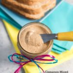 Cinnamon Mixed Nut Butter {Peanut Free} #glutenfree | www.nutritiouseats.com