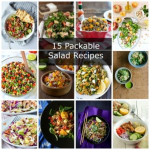 15 Packable Salad Recipes