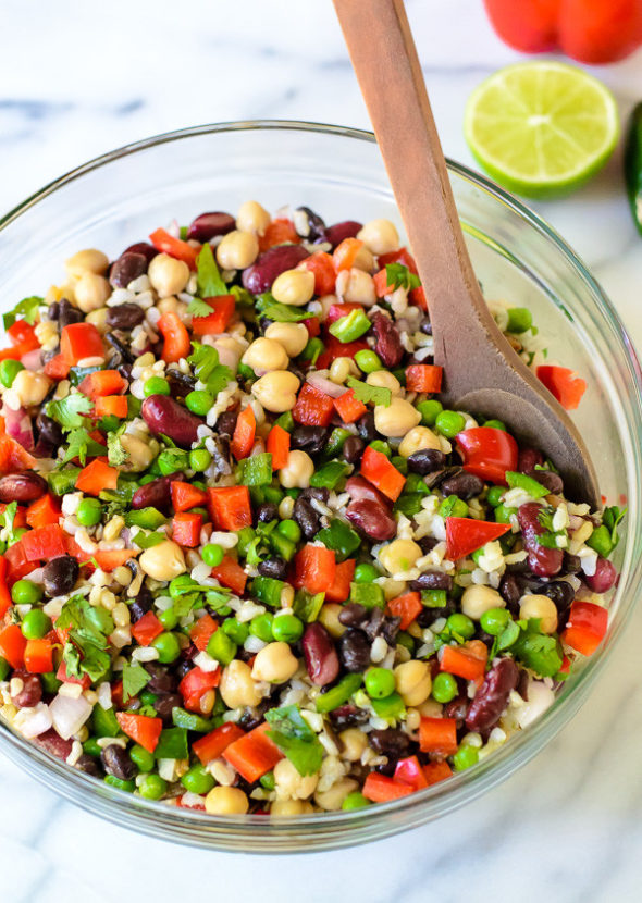 Mexican-Three-Bean-Salad-with-Wild-Rice-600x844