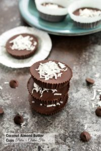 Coconut Almond Butter Cups {Paleo + Vegan}
