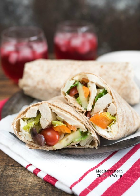 Mediterranean Chicken Wrap - Nutritious Eats- Healthy Recipes & Nutrition 2016-05-18 12:59