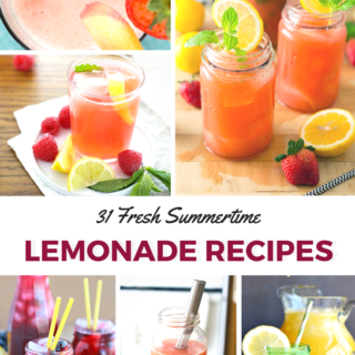 31 Fresh Summertime Lemonade Recipes- RoundUp | www.nutritiouseats.com