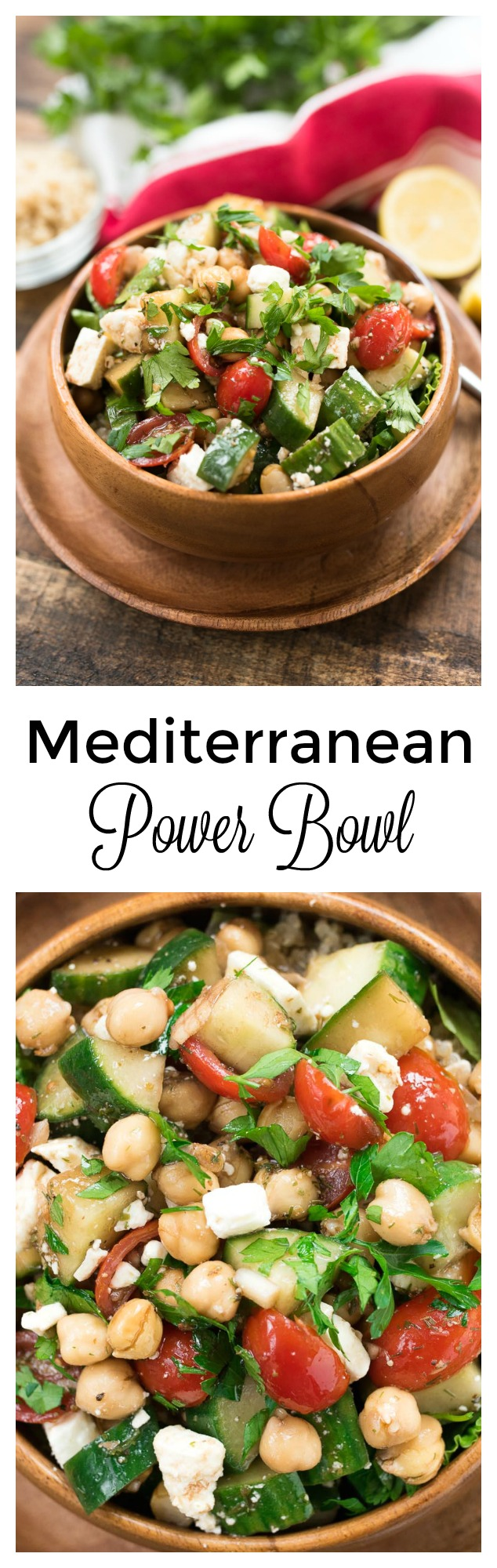 Mediterranean power bowl gluten free nutritious eats mediterranean power bowl a plant based protein and fiber packed lunch or dinner forumfinder