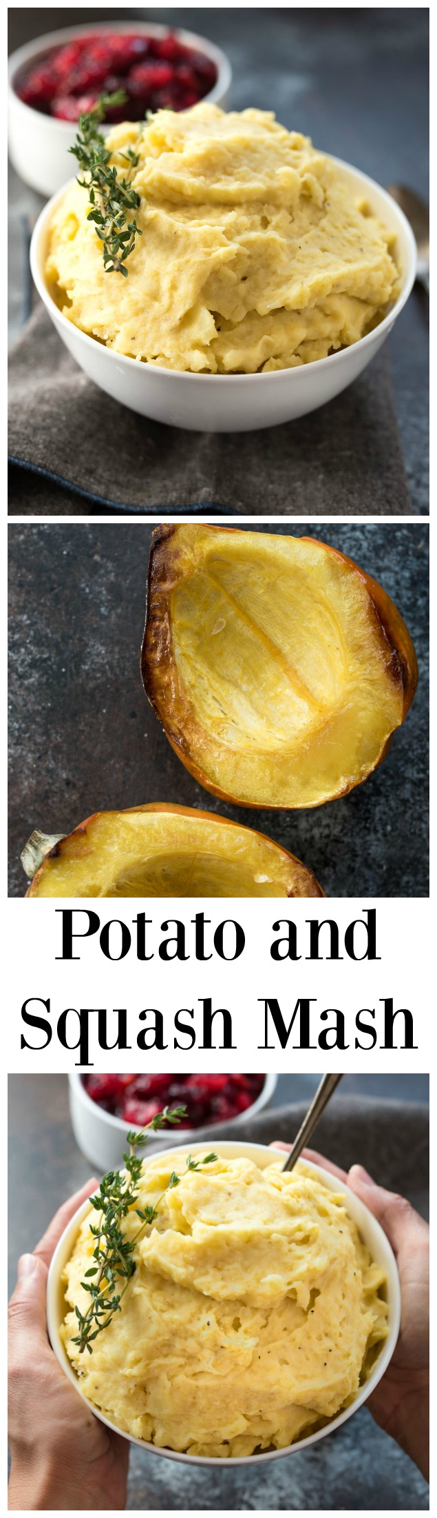 Squash and Potato Mash- looking for a healthier version of traditional mashed potatoes? Come check out this recipe! #glutenfree ! | www.nutritiouseats.com