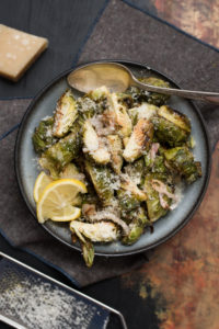 Parmesan Lemon Brussels Sprouts