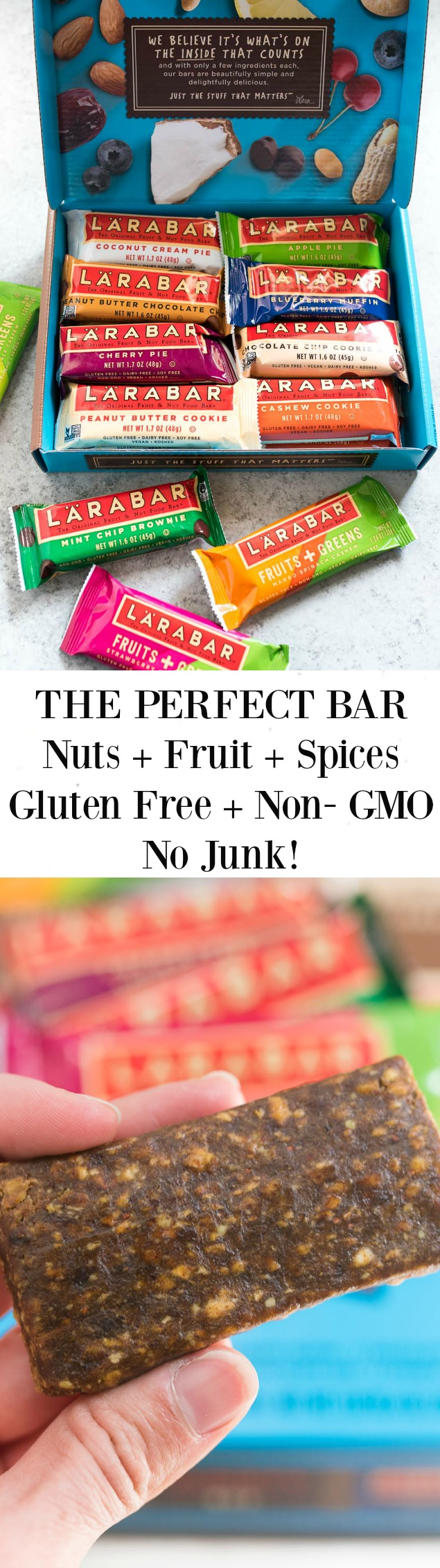 The perfect fruit and nut bar to stock up on- #glutenfree and many #paleo and #whole30 compliant choices. Real food in a snack bar form! 25% off HERE http://amzn.to/2iB9mEK through Feb. 14th! #sponsored