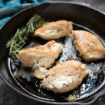 Goat Cheese and Herb Stuffed Chicken Breasts are simple yet fancy...a great dinner for date night, a dinner party or holiday meal.
