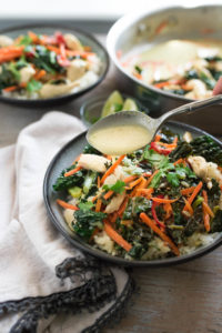Easy Green Curry with Chicken and Vegetables