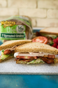 Turkey Caesar BLT Sandwiches + What To Pack For The Pool