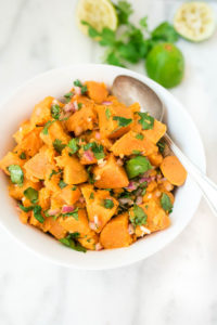 Cilantro Lime Sweet Potato Salad