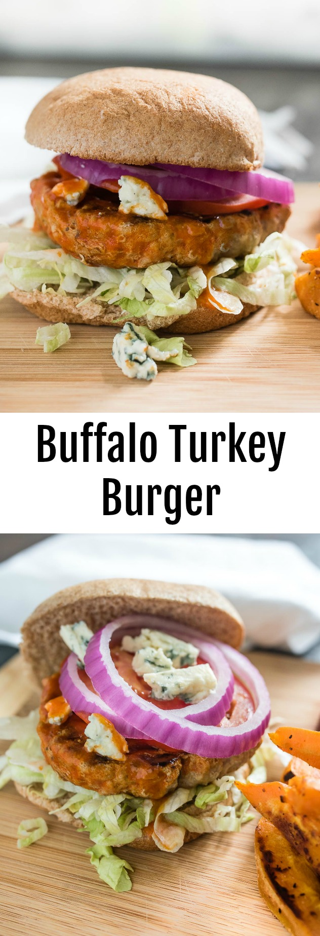 the fried wings and make some easy and tasty Buffalo Turkey Burgers ...
