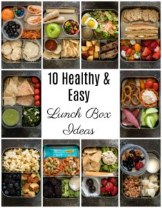 Pancake PB Banana Sandwich and 10 Healthy Lunch Box Ideas