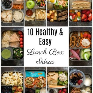 #Ad: Enjoy these 10 nutritious, well-balanced, kid (and adult) friendly lunch box ideas that will inspire you to get packing! Plus a fun Pancake Sandwich recipe that your kids will love. @heb