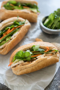 Easy Banh Mi Sandwiches